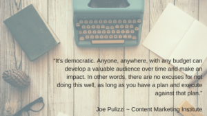 Anyone can build and implement a great content strategy.