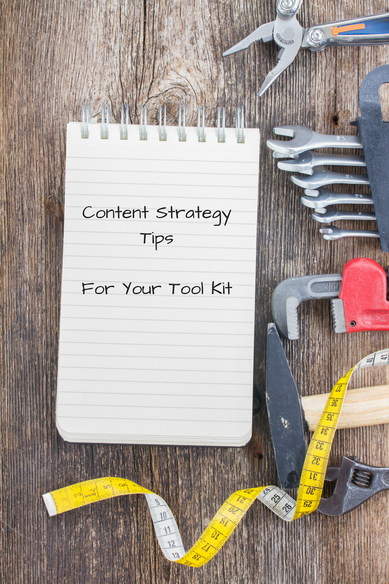 Here are some content strategy tips.