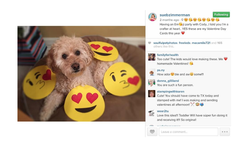 Instagram for Business Means Emojis Are A-Ok!