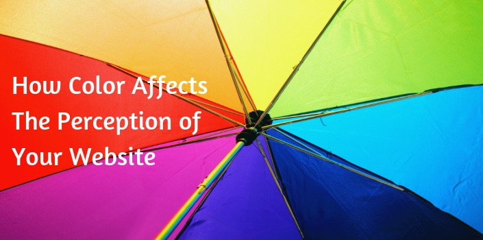 How the psychology of color influences your site's traffic.