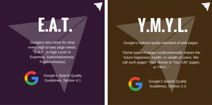 understand what google is looking for in the latest algorithm update