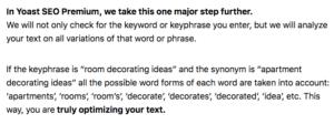 optimized synonyms for yoast seo wordpress plugin